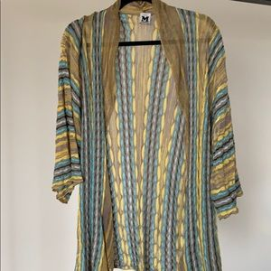 Missoni open front knit top